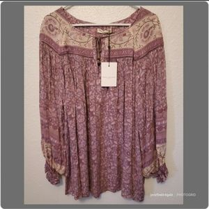 NWT Spell & The Gypsy Collective Dahlia Blouse Lrg